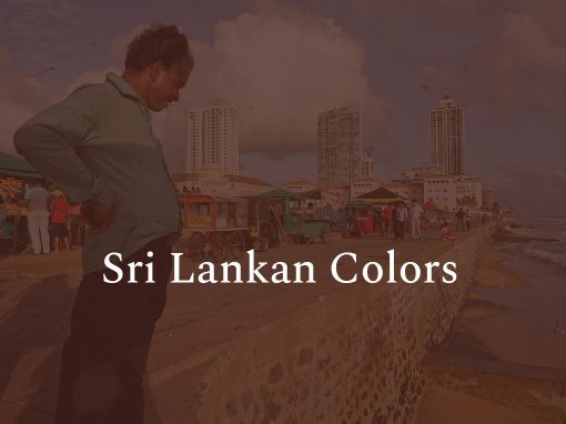 Sri Lankan Colors